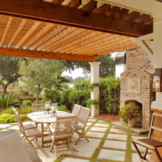 Beach Style Patio by Architrave