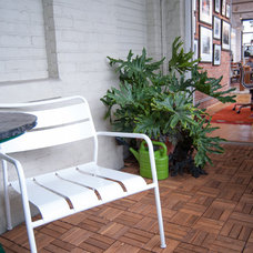 Industrial Patio by Adrienne DeRosa