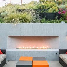 Contemporary Patio by Envision Landscape Studio