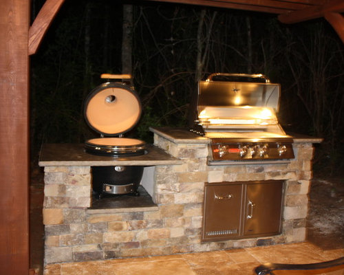 Kamado Joe Gas Grill Design Ideas & Remodel Pictures | Houzz
