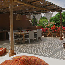 Tropical Patio by DLFstudio
