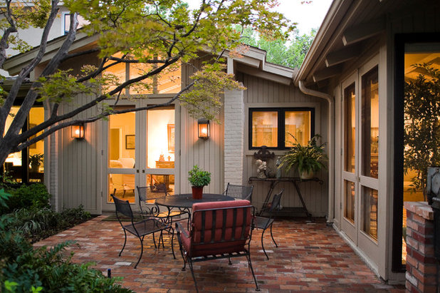 Traditional Patio by The Victor Myers Companies