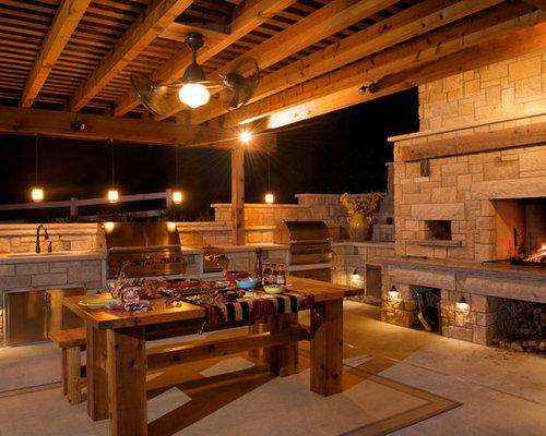 Farmhouse Kansas city Outdoor Design Ideas Remodels & s