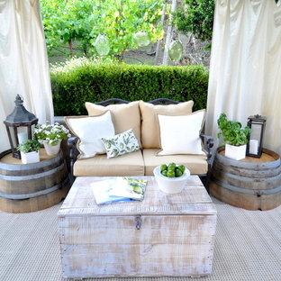 Elegant patio photo in Other