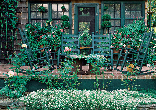 Rustic Patio by The Taunton Press, Inc