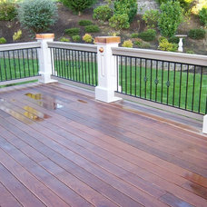 Traditional Patio by The Sawyer Company, Inc.