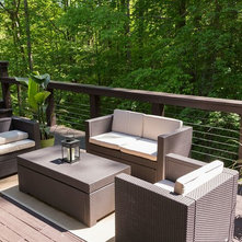 Awesome Contemporary Patio DECK VIEW 2