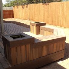 Contemporary Patio by Centex Decks and Outdoor Living