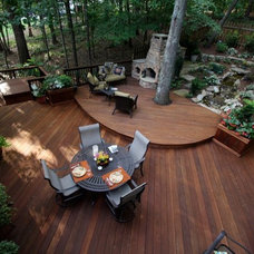 Traditional Patio by Decksouth