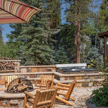 Chemical free hot tub and outdoor shower