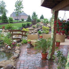 Traditional Patio by Soergel Landscapes, Aquascapes, Florascapes