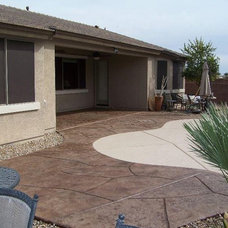 Modern Patio by Jeff Christ of Outdoor Creations