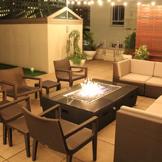Contemporary Patio by Cooke Furniture
