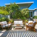 Organic Modern Outdoor Living Beach Style Patio San
