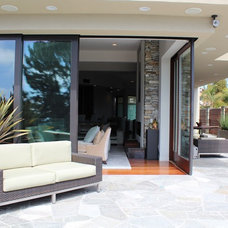 Modern Patio by Janine Brown Interiors