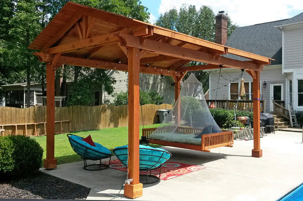 American Traditional Patio by Forever Redwood