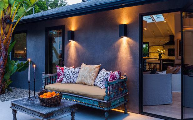 Traditional Patio by Lori Smyth Design