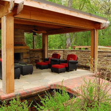 Traditional Patio by Hagstrom Builder
