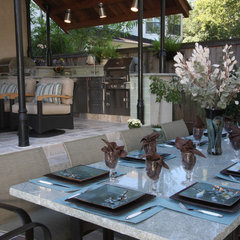 eclectic patio by Dena Brody, ASID, RID