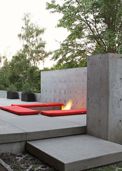 Contemporary Patio by SHED Architecture & Design