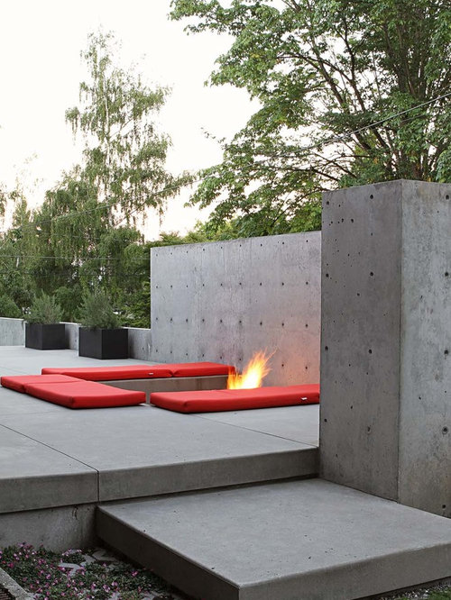 Poured Concrete Walls Home Design Ideas Pictures Remodel