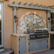 Contemporary Patio by Da Vinci Remodeling, LLC