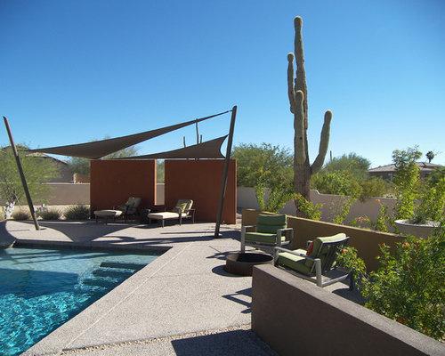 Contemporary Patio Idea In Phoenix