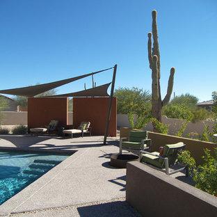 Patio - contemporary patio idea in Phoenix