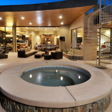 Southwestern Patio by Soloway Designs Inc | Architecture + Interiors