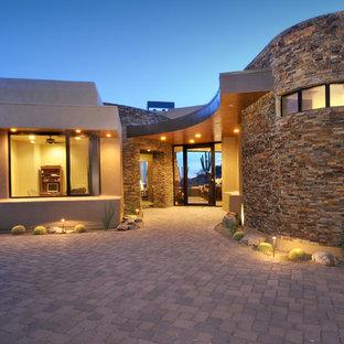 Idee per un patio o portico stile americano