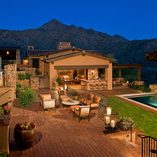Traditional Patio by Swaback Partners, pllc
