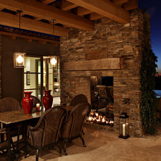Traditional Patio by ArchitecTor, PC