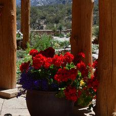 Southwestern Patio by Landscape Design West, LLC