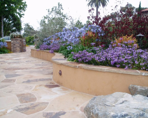 Driveway flower bed ideas pictures remodel and decor