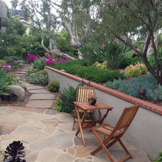 Eclectic Patio by The Design Build Company