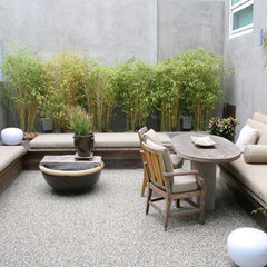 modern patio by Bondanelli Design Group, Inc.