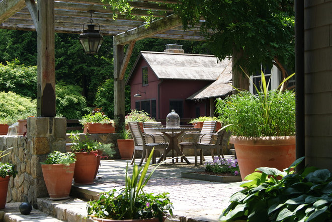 Traditional Patio by AHBL