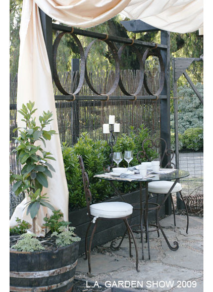 Eclectic Patio by Dwell by Design