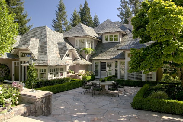 Traditional Patio by Remick Associates Architects + Master Builders