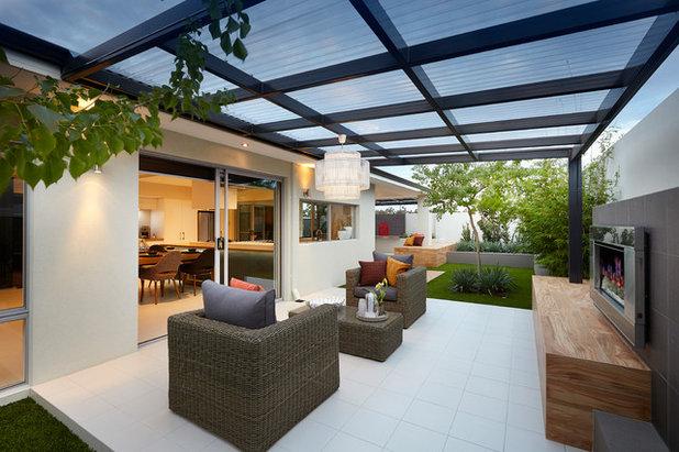 das wohnzimmer im grünen: 7 möglichkeiten für die terrassenüberdachung, Gartengerate ideen