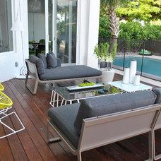 Contemporary Patio by DKOR Interiors Inc.- Interior Designers Miami, FL