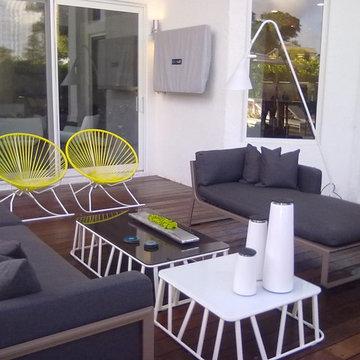 DKOR Interiors - A Modern Miami Home - Interior Design