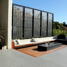 Modern Patio by Foundation Landscape Design