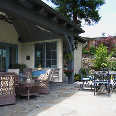 Traditional Patio by Francis Garcia Architect