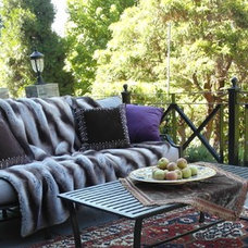 Eclectic Exterior by Donna DuFresne Interior Design