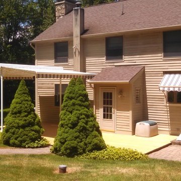 """Double """"Butterfly"""" Style Retractable Awning"""