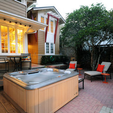 Traditional Patio by NuDesign Builders Inc