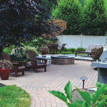 Doylestown, PA- Outdoor Courtyard Entrance & Backyard Retreat