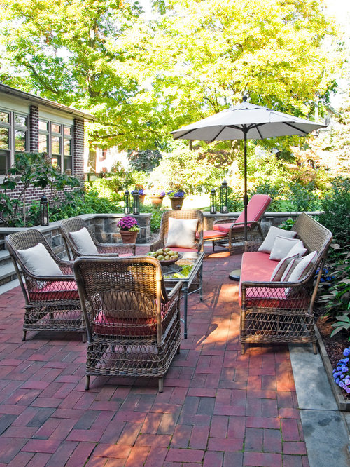 small paver patio houzz