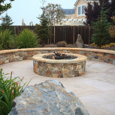 Contemporary Patio by Spring Creek Outdoor Living